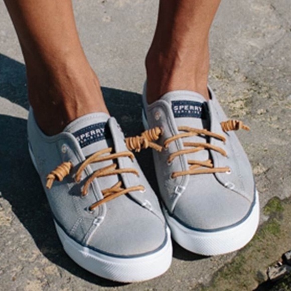 Sperry Shoes | Gray Sperry Notie
